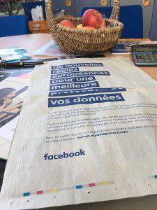 Facebook fait la promotion du RGPD